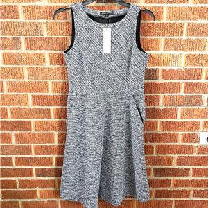 NWT Banana Republic Tweed Pockets Dress 4 Petite